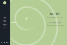 NEW A.L.I.V.E. Holistic Health Clinic website