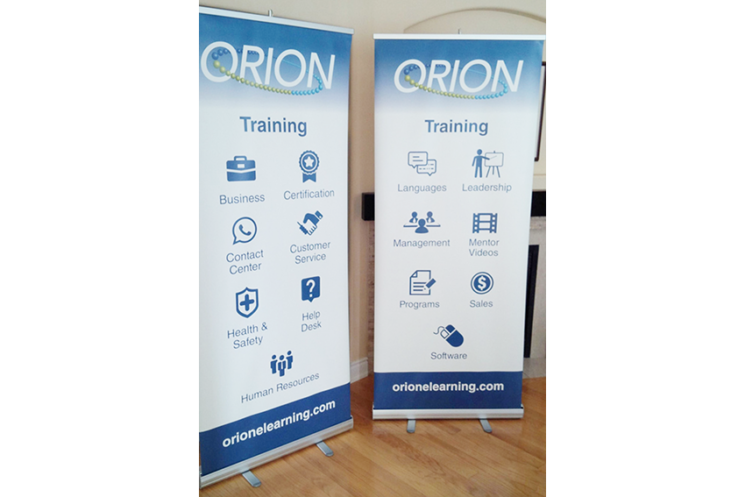 Orion Learning Banners