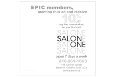 Salon One Poster