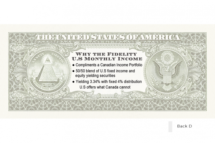 Fidelity Funny Money - BACK