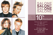 Salon One 10% off-WINTER