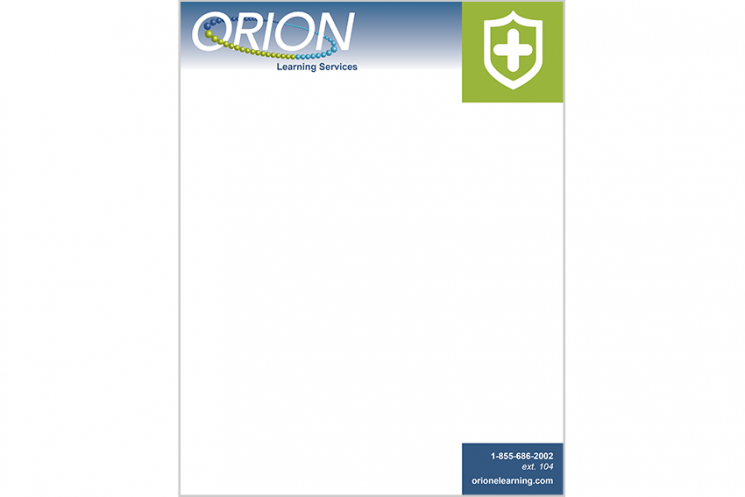 Orion Learning Template